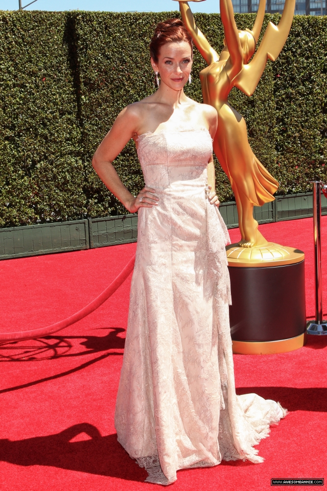 Annie Wersching at 2014 Creative Arts Emmy Awards - 8