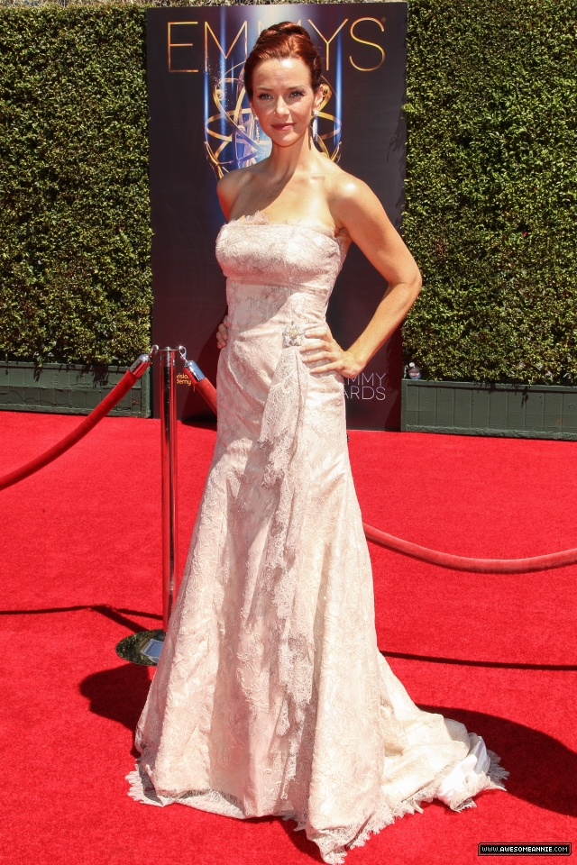 Annie Wersching at 2014 Creative Arts Emmy Awards - 9