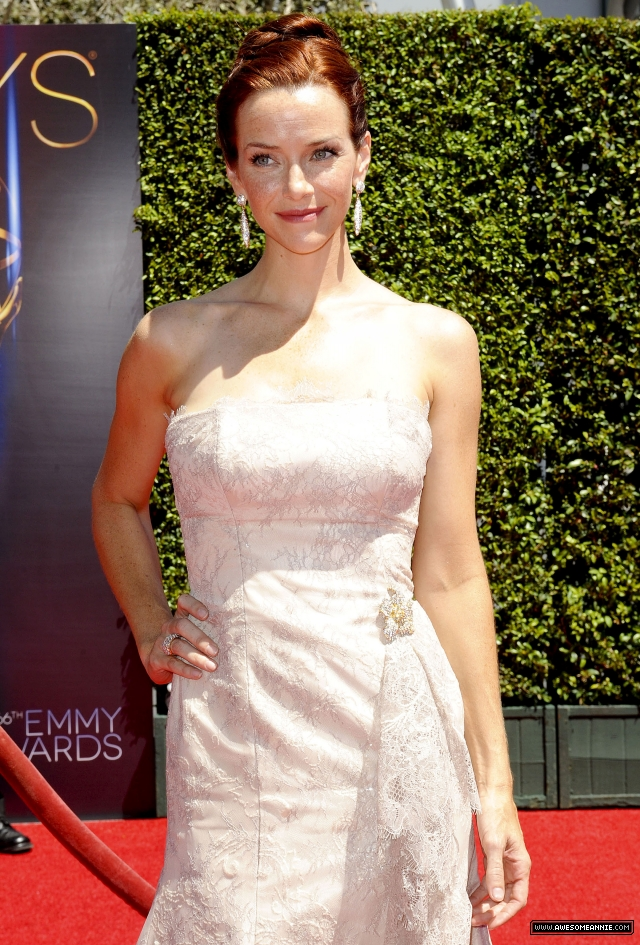 Annie Wersching at 2014 Creative Arts Emmy Awards - 10