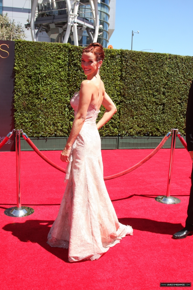 Annie Wersching at 2014 Creative Arts Emmy Awards - 13