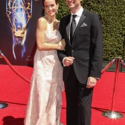 Annie Wersching and Stephen Full at 2014 Creative Arts Emmy Awards - 2