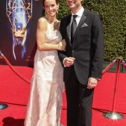 Annie Wersching and Stephen Full at 2014 Creative Arts Emmy Awards - 3