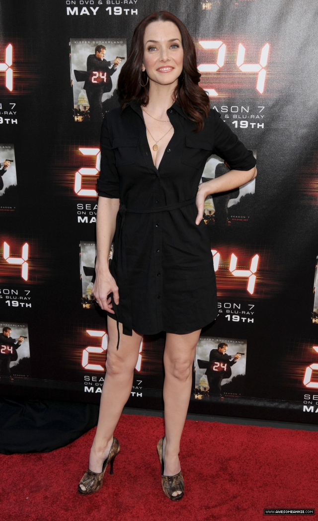 Annie Wersching at 24 Season 7 Finale Screening