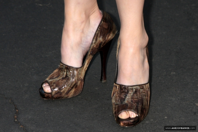 Annie Wersching Feet at 24 Season 7 Finale Party - 6