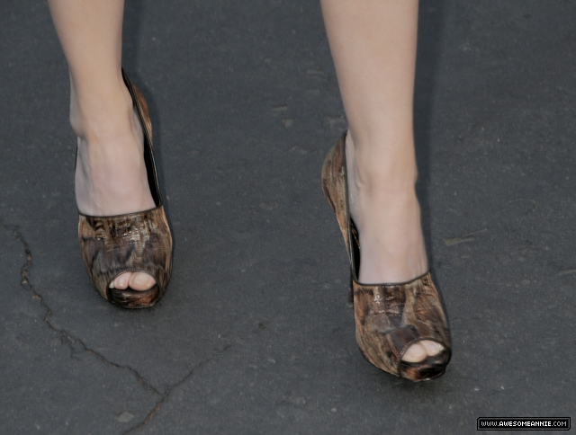 Annie Wersching Feet at 24 Season 7 Finale Party - 7