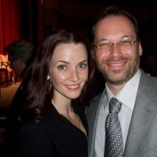 Annie Wersching with Dr. Steven Novick at 24 Season 7 Finale Screening Q&A