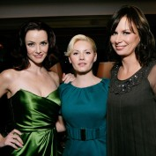 Annie Wersching, Elisha Cuthbert, and Mary Lynn Rajskub