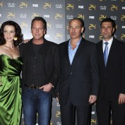 Annie Wersching, Keifer Sutherland, Howard Gordon, Carlos Bernard and Mary Lynn Rajskub
