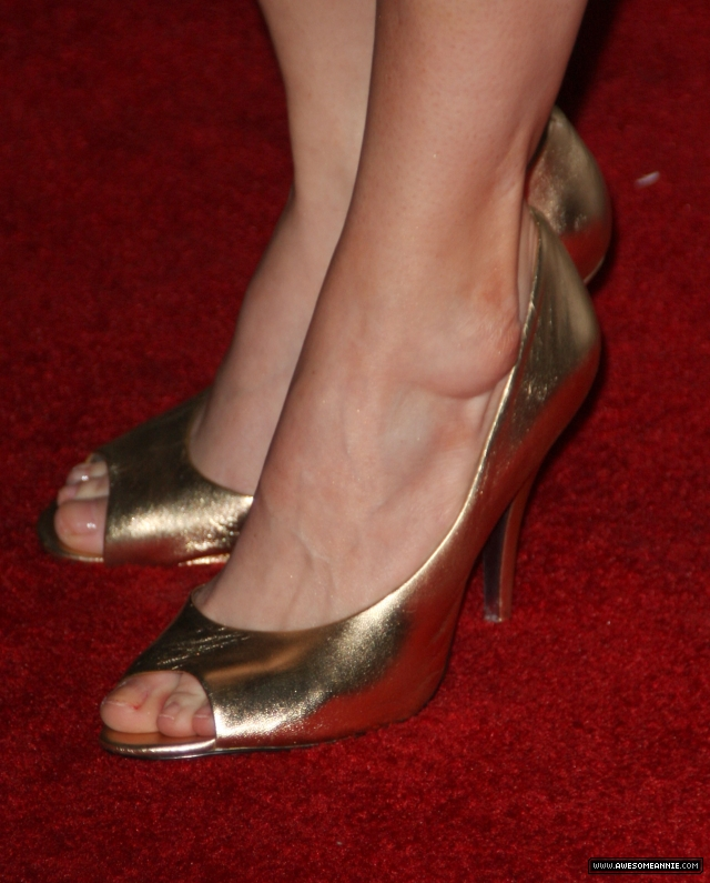Annie Wersching feet 24 Season 7 Premiere Party