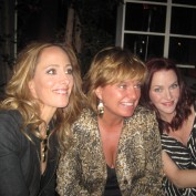 Annie Wersching and Kim Raver at 24 Series Finale Party