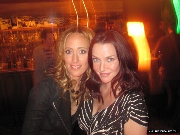 Annie Wersching and Kim Raver 24 Series Finale Party