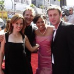 Annie Wersching, Sebastian Roche, Chandra Wilson at Daytime Emmy Awards 2007