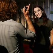 Annie Wersching interviewed at Agua Caliente Resort Spa