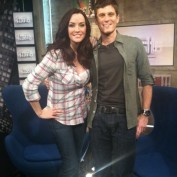 Annie Wersching with Kevin Pereira