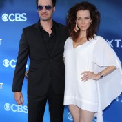 Annie Wersching and Stephen Full at Premiere of CBS's Extant - 1