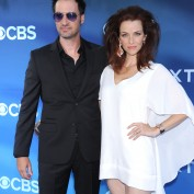 Annie Wersching and Stephen Full at Premiere of CBS's Extant - 2