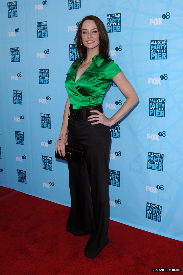 Annie Wersching at FOX All-Star Party Santa Monica Pier 2008