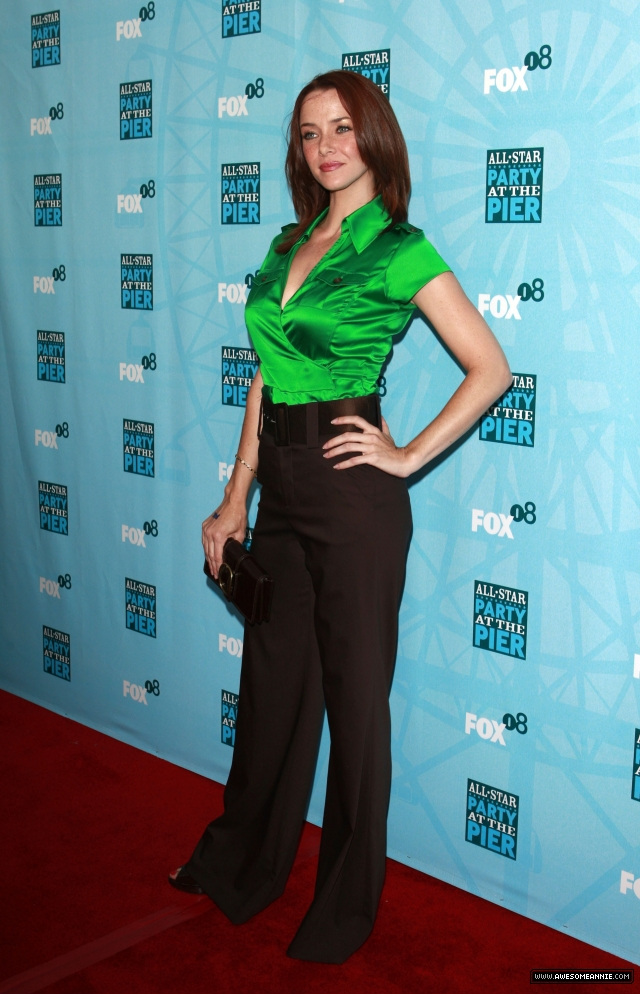 Annie Wersching at the FOX All-Star Party Santa Monica Pier 2008 - 13