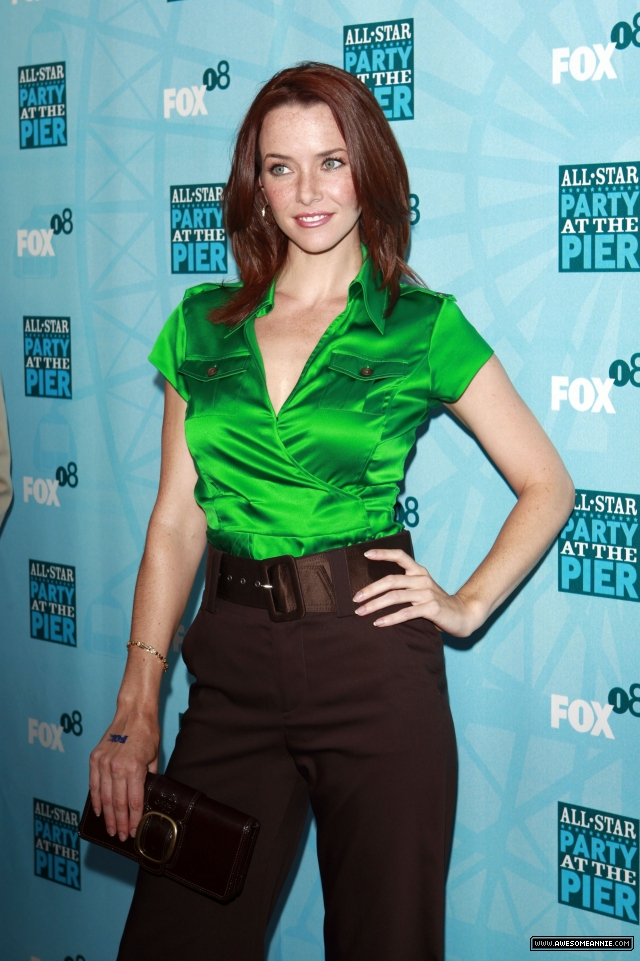 Annie Wersching at the FOX All-Star Party Santa Monica Pier 2008 - 14
