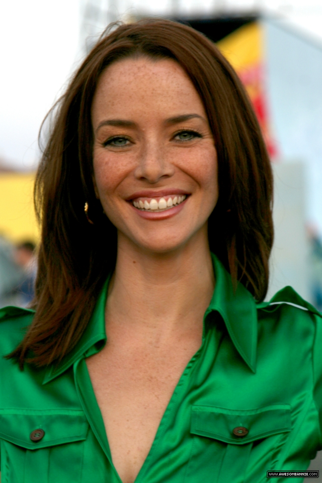 Annie Wersching at the FOX All-Star Party Santa Monica Pier 2008