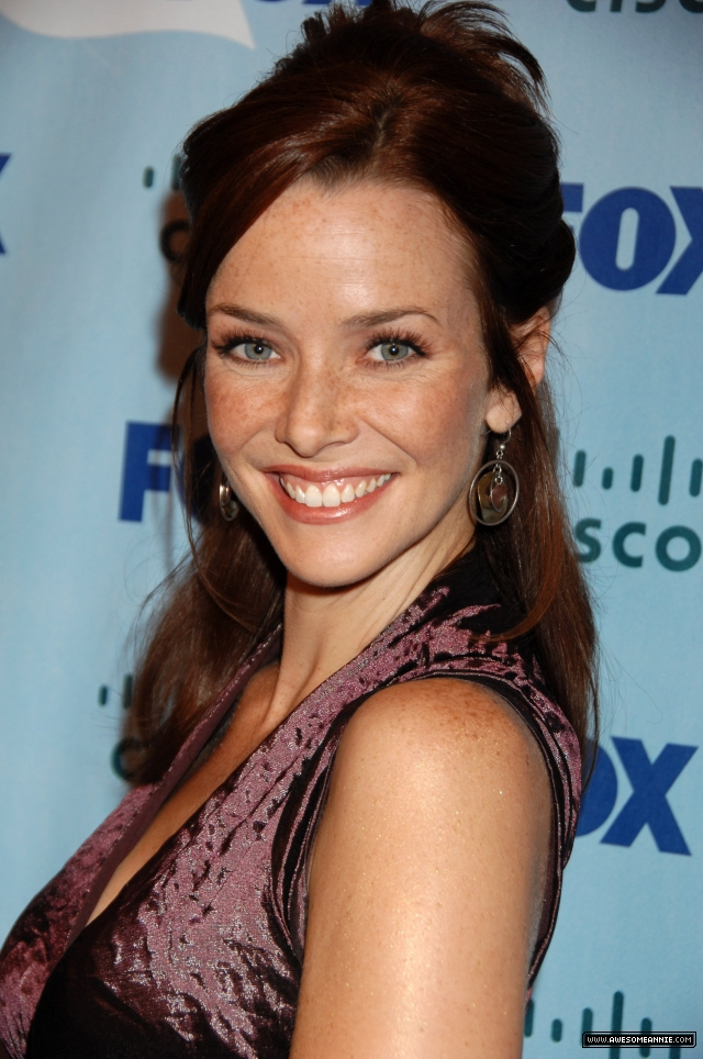 Annie Wersching at 2008 FOX Fall Eco-Casino Party