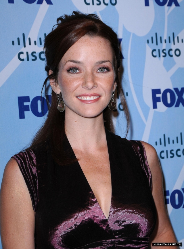 Annie Wersching arrives at 2008 FOX Fall Eco-Casino Party