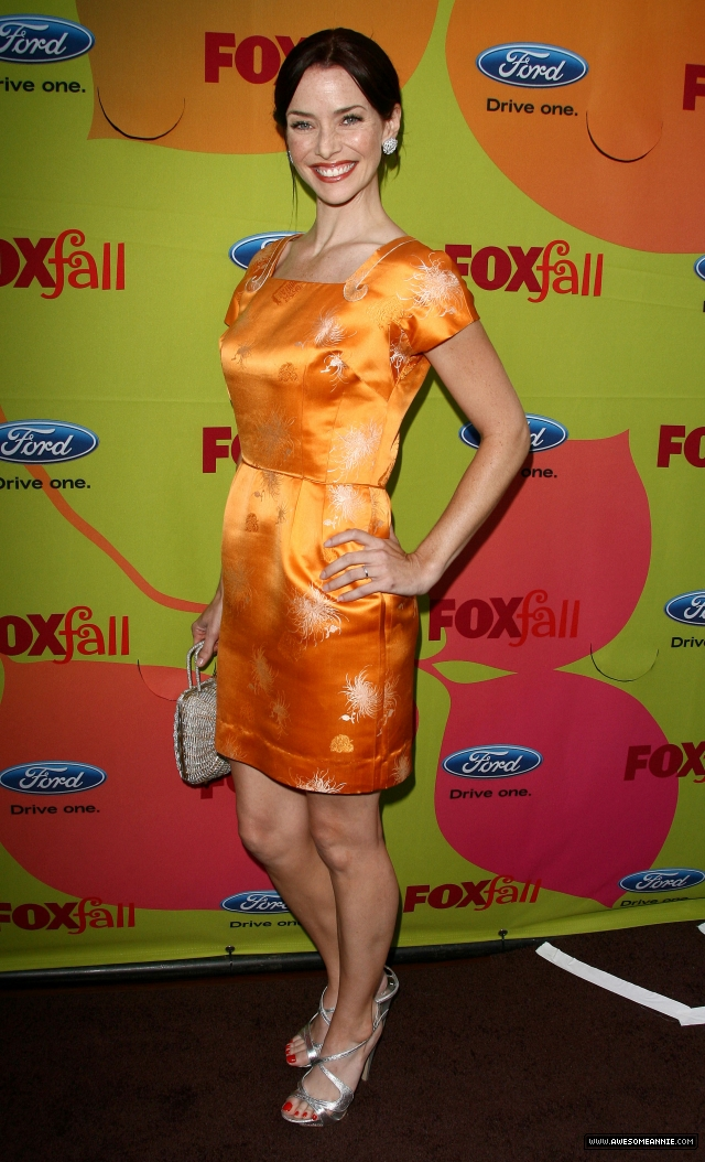Annie Wersching at FOX Fall 2009 Eco-Casino Party