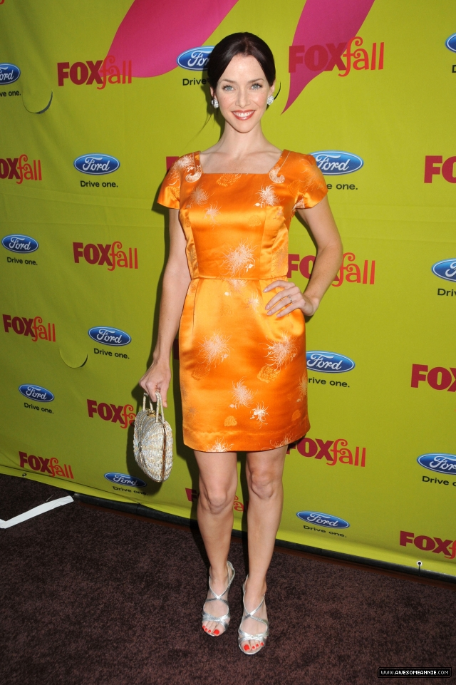 Annie Wersching at FOX Fall Eco-Casino Party 2009