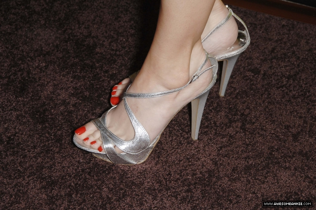 Annie Wersching's feet at FOX Fall Eco Casino Party 2009 - 2