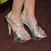 Annie Wersching's feet at FOX Fall Eco Casino Party 2009 - 4