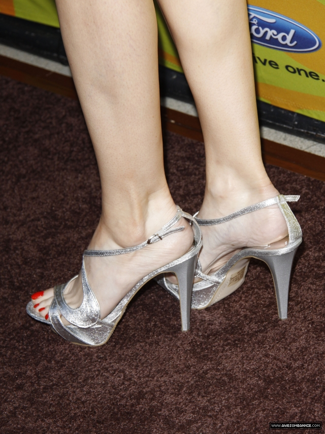 Annie Wersching's feet at FOX Fall Eco Casino Party 2009 - 5