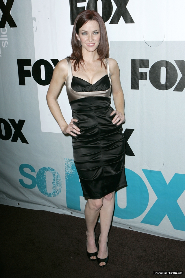 Annie Wersching at Fox's Winter All-Star Party 2009