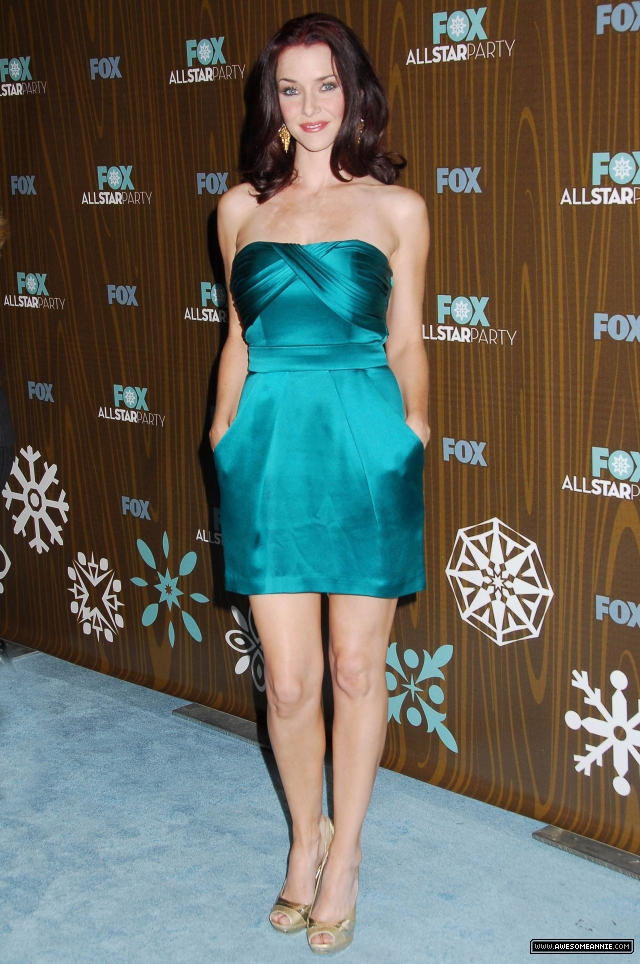Annie Wersching at 2010 FOX Winter All-Star Party