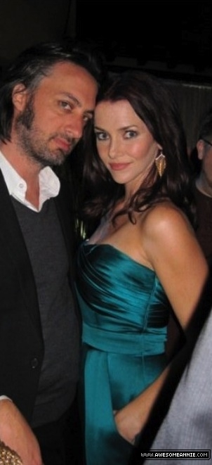 Annie Wersching and Stephen Full at FOX All-Star Party 2010