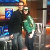 Annie Wersching on FOX 2 News St. Louis Morning Show with Tim Ezell
