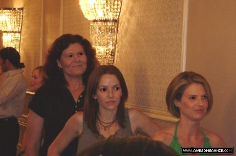 Annie Wersching and Megan Ward at General Hospital Fanclub Event
