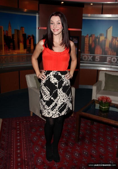 Annie Wersching visits Good Day NY 8