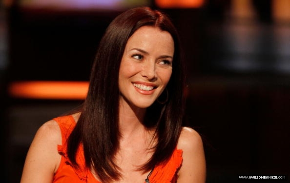 Annie Wersching visits Good Day NY 15