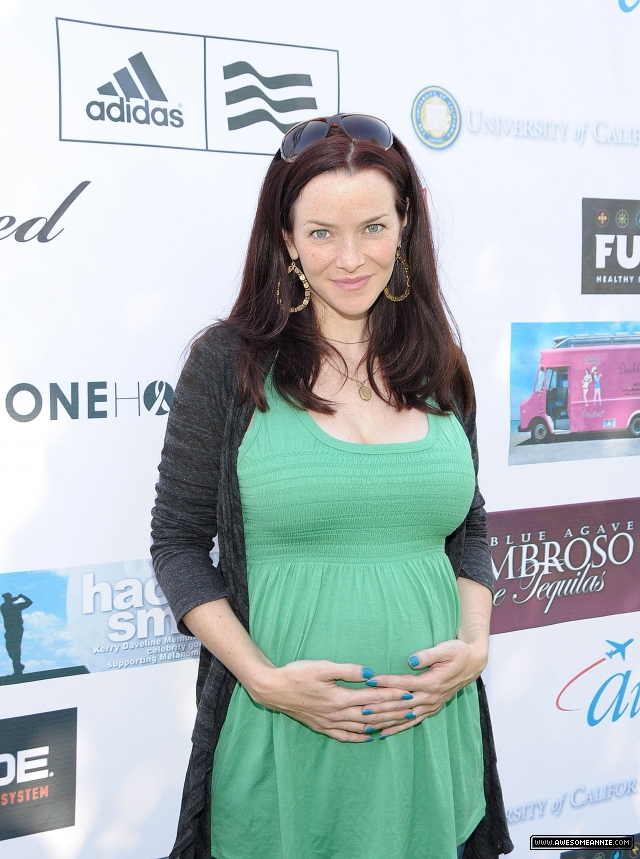 Annie Wersching at Hack n Smack Celebrity Golf Tournament 2010