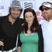 Annie Wersching, Stephen Full, Michael Moynahan at 7th Annual Hack n Smack