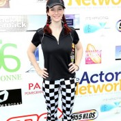 Annie Wersching Hack n Smack Celebrity Golf Tournament 2011