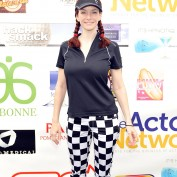 Annie Wersching at 8th Annual Hack N Smack Celebrity Golf Tournament