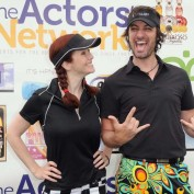Annie Wersching and Stephen Full at 8th Annual Hack N Smack Celebrity Golf Tournament 2
