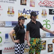 Annie Wersching and Stephen Full at 8th Annual Hack N Smack Celebrity Golf Tournament - 4