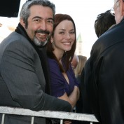 Annie Wersching and Jon Cassar at Kiefer Sutherland's Hollywood Walk of Fame Event