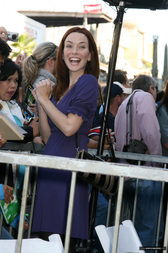 Annie Wersching at Hollywood Walk of Fame - 19