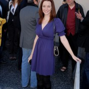 Annie Wersching at Walk of Fame