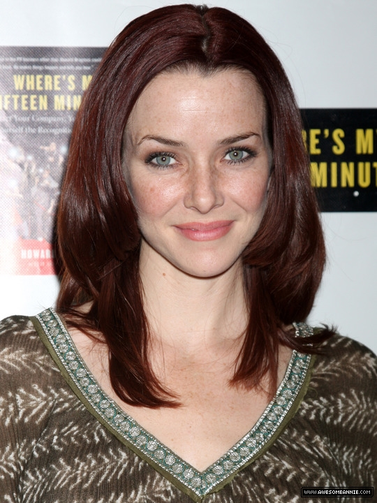 Annie Wersching attends Howard Bragman's Book Launch 1