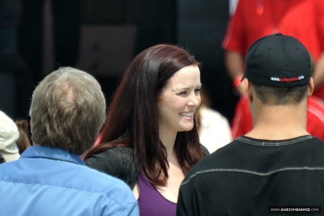 Annie Wersching Long Beach Grand Prix 2010
