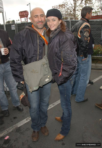 Carlo Rota and Annie Wersching at 24th Annual Love Ride in LA